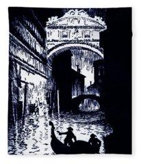 The Assignation By Edgar Allan Poe Fleece Blanket