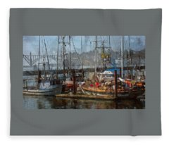 The Bay Fleece Blanket