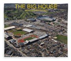 The Big House Fleece Blanket