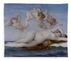The Birth Of Venus Fleece Blanket