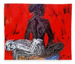 The Blood Hot Fantasy Fleece Blanket