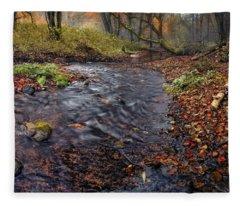 The Breath Of Autumn Fleece Blanket
