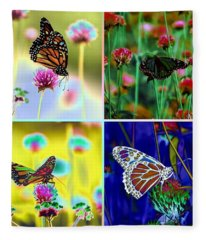 The Butterfly Collection 1. Fleece Blanket