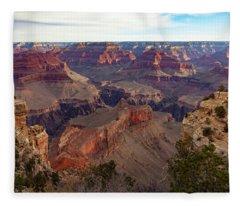 The Canyon Awakens Fleece Blanket