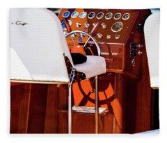 The Captains Chair Fleece Blanket