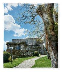 The Castle Of Villamarin Fleece Blanket