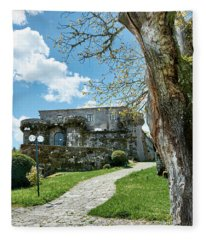 The Castle Of Villamarin Fleece Blanket