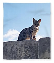 The Cat Fleece Blanket