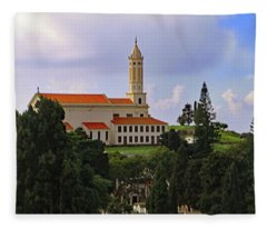 The Church Of St Martin Fleece Blanket