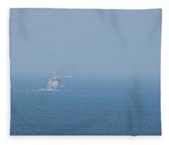 The Coast Guard Fleece Blanket