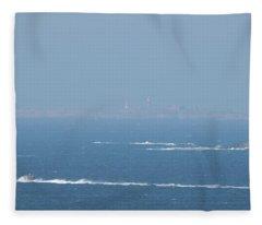The Coast Guard's Rib Fleece Blanket