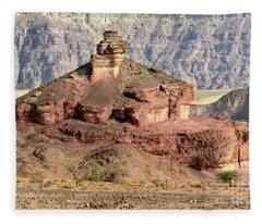 The Colored Bolt Hill At Sunrise Fleece Blanket
