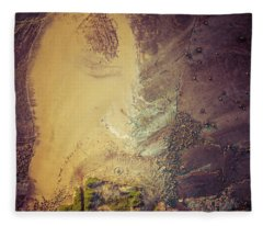 Fleece Blanket featuring the photograph The Colours Of Longreef by Chris Cousins