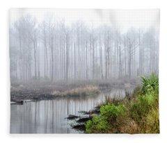 The Coming Fog Fleece Blanket