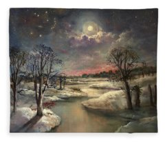 The Constellation Orion Fleece Blanket