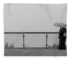 The Conversation Fleece Blanket