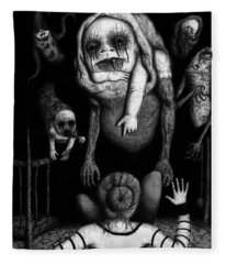 The Corrupted - Artwork Fleece Blanket