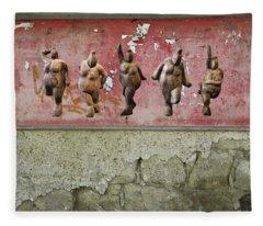 Fleece Blanket featuring the photograph The Crones - Venus Dancing  by Andrea Kollo