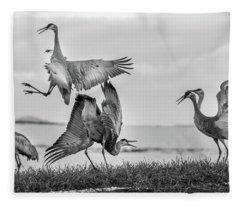The Dance  Fleece Blanket
