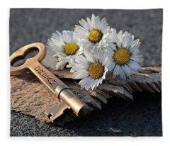 The Dream Key Fleece Blanket
