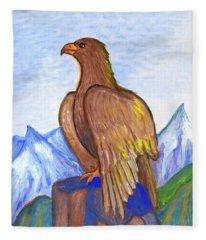 The Eagle Fleece Blanket