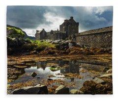The Eilean Donan Castle Fleece Blanket