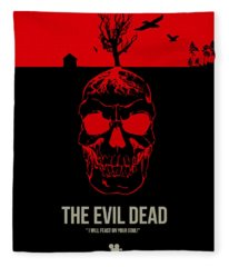 The Evil Dead Fleece Blanket