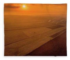 The Fields Fleece Blanket