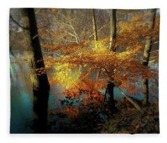 The Golden Bough Fleece Blanket
