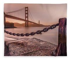 The Golden Gate Fleece Blanket