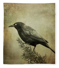 The Grackle Fleece Blanket