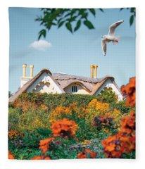 The Hobbit House Fleece Blanket