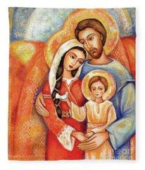 The Holy Family Fleece Blanket