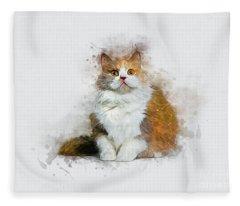 The Hypnotist Fleece Blanket