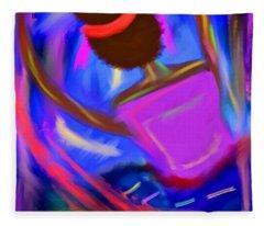 The Intercessor Fleece Blanket