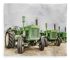 The John Deere Collection Fleece Blanket