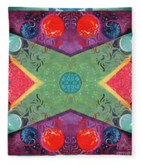 The Joy Of Design 51 Arrangement 1 Fleece Blanket