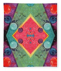 The Joy Of Design 51 Arrangement 2 Fleece Blanket