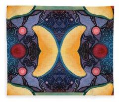 The Joy Of Design 52 Arrangement 2 Fleece Blanket
