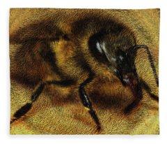 The Killer Bee Fleece Blanket