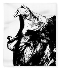 The King Lion Fleece Blanket