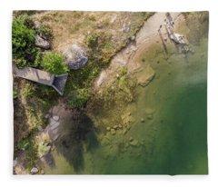 The Lake Fleece Blanket