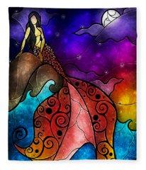 The Little Mermaid Fleece Blanket