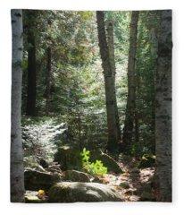 The Living Forest Fleece Blanket
