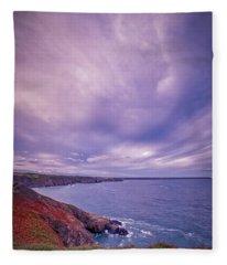 The Lizard Point Fleece Blanket