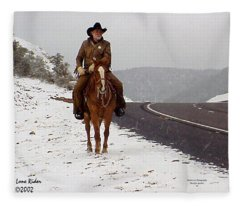 The Lone Ranger Fleece Blanket
