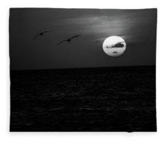 The Long Flight Fleece Blanket