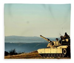 The Long Road Home Fleece Blanket