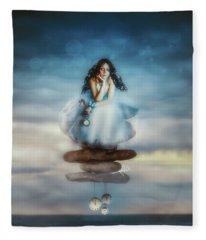 The Longest Delay Fleece Blanket