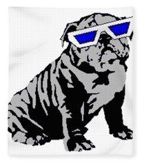 The Lucky Puppy Fleece Blanket